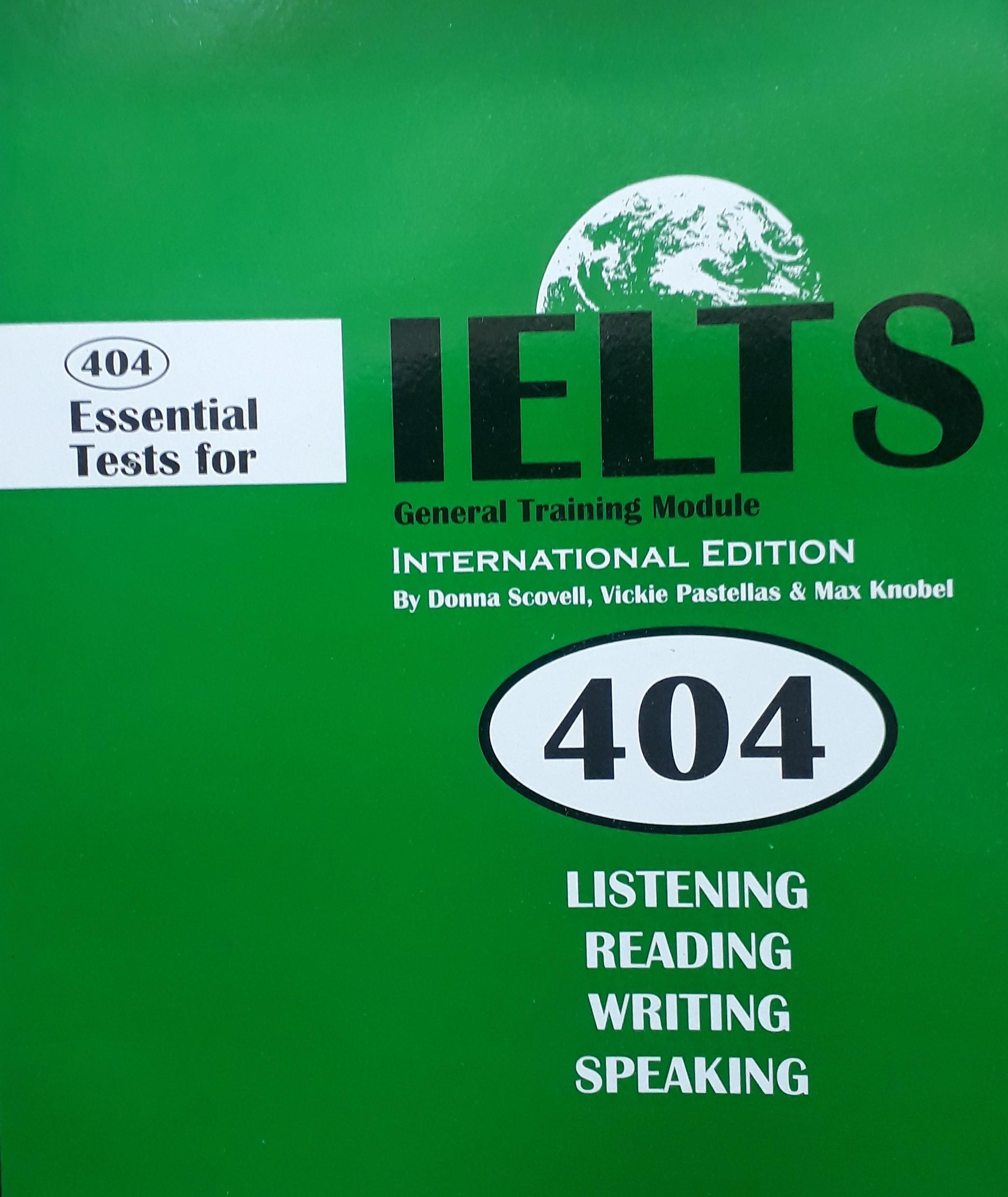 IELTES 404 BOOKS
