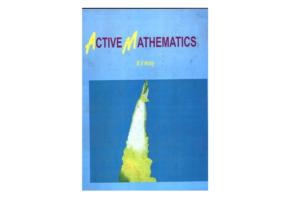 Active Mathematics by B. V. Hony (Longman)