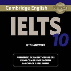 CAMBRIDGE IELTS BOOK – 10