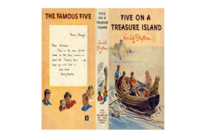 Five on a Treasure Island by Enid Blyton (Published by Hodder)