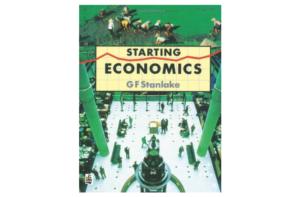 Starting Economics by G.F. Stanlake (Longman, 1998), Seventh Impression 1999