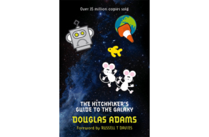 The Hitch Hiker's Guide to the Galaxy by Douglas Adams (MacMillan Publishers)